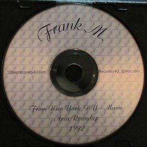 "Frank M. ""Need to be conscious of God"" Alcoholics Anonymous Speaker CD 1992 talk"