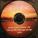 12 Step Recovery Talks Al-Anon Speaker CDs - Ginny N.