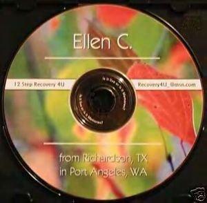 12 Step Recovery Talks Al-Anon Speaker CDs - Ellen C.