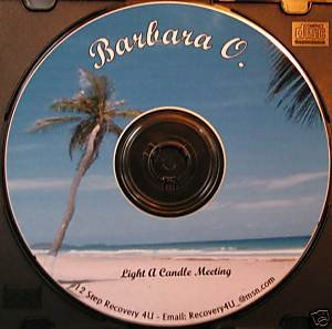 Barbara O. Great example of the steps. Overeaters Anonymous talk Speaker CD