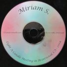 "Miriam S. ""I was getting crazier and crazier"" Overeaters Anonymous talk CD"