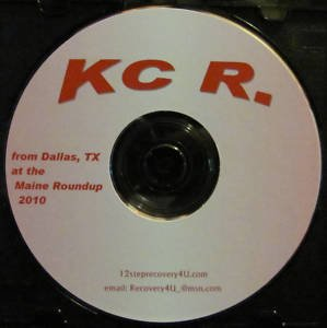 KC R. from Dallas, Texas in Maine 2010 Alcoholics Anonymous Speaker CD AA talk
