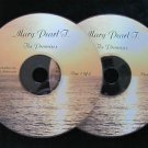 "2 Alanon CDs * Mary Pearl *  ""A Study Of The Promises"""
