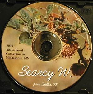 Searcy W (Ebby's sponsor) Alcoholics Anonymous CD talks