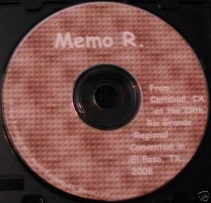 Narcotics Anonymous NA CD talk speaker  - Memo R