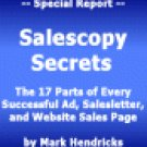 The 17 Parts of every Money-Making Ad, salesletter and Website!