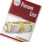 The Forum List