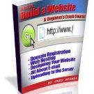 How to Build a Website.... Crash Course