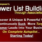Power List Building