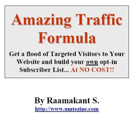 Amazing Traffic Formula