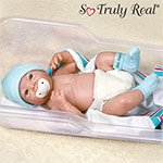 Dear, Dear Baby Collectible Lifelike Baby Boy