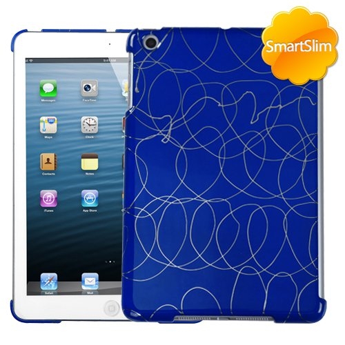 MYBAT Curved Lines Dark Blue SmartSlim Back Protector Cover