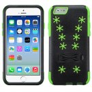 ASMYNA Green Snowflake Inverse Advanced Armor Stand Protector Cover