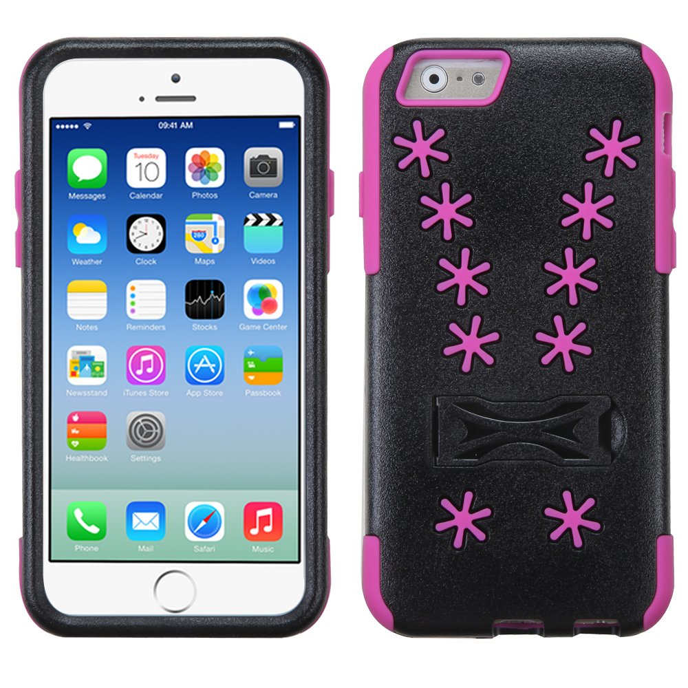 ASMYNA Hot Pink Snowflake Inverse Advanced Armor Stand Protector Cover