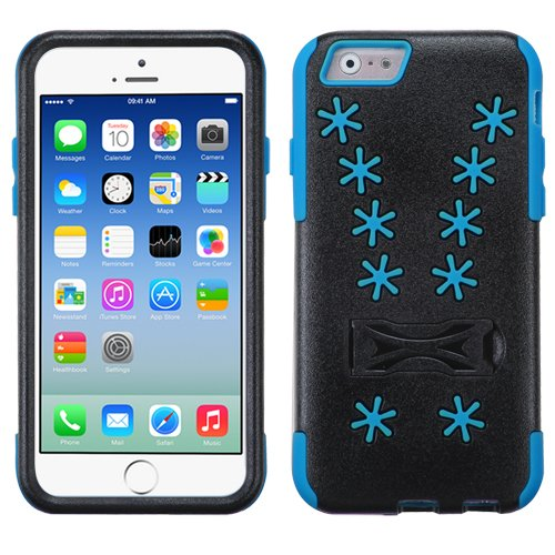 ASMYNA Blue Snowflake Inverse Advanced Armor Stand Protector Cover