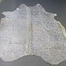 Silver Cowhide Rug Brazilian Acid Washed Cow Hide Rug 90*72inch 993