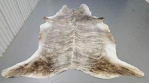 Cow Hide Rug Brazilian Grey Brindle Cowhide Rug Real Leather 85*70inch 996