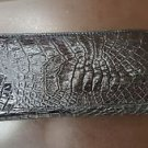 crocodile clutch purse handbag 100% real