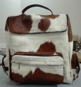 Unisex Cowhide Duffel Bag Travel Weekender Carryall Bags Spacious Travelling Bag