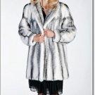 Soft Elegant Norka Mink Fur Coat Beautiful Minkcoat Women's Winter Coat Jacket