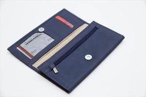 Wholesale X 50 PCS Ladies Clutches Long Fold Wallets. More Space Magnet Closure