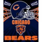 "Chicago Bears Fleece NFL Blanket (Shadow Series) by Northwest (50""""x60"""")"