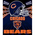 "Chicago Bears Fleece NFL Blanket (Shadow Series) by Northwest (50""""x60"""")"