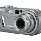 Sony Cyber-shot DSC-P10 5.0 MP Digital Camera - Silver