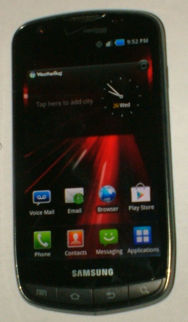 Samsung i510 Droid Charge (Verizon) with USB cable
