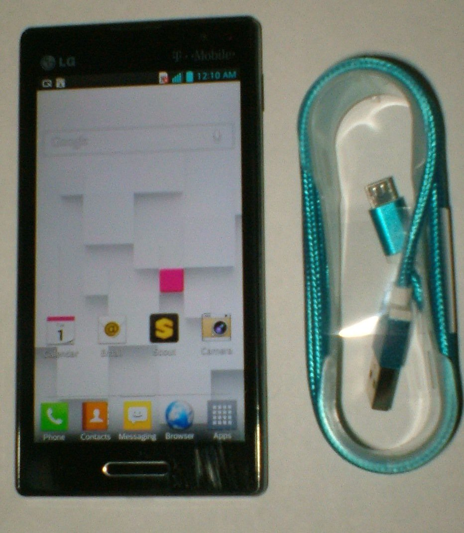 LG Optimus L9 aka P769 ( T-Mobile ) Smartphone with USB cable