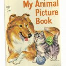 Vintage Children's Rand McNally Junior Elf Book - MY ANIMAL PICTURE BOOK 1959