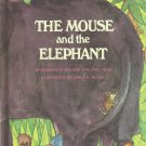 Vintage Children's Parents Magazine Book - THE MOUSE AND THE ELEPHANT 1969