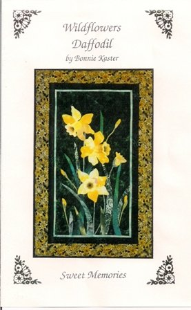 Wildflowers Daffodil Wall Hanging Pattern by Bonnie Kaster