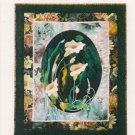 Calla Lily Wall Hanging Pattern by Bonnie Kaster