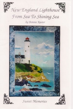 New England Lighthouse From Sea to Shining Sea by Bonnie Kaster