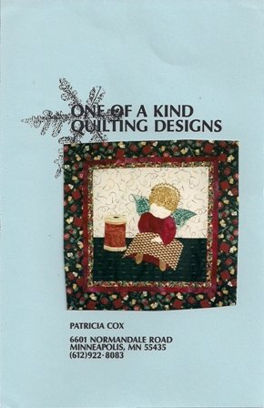 Quilting Angel by One of a Kind Quilting Designs