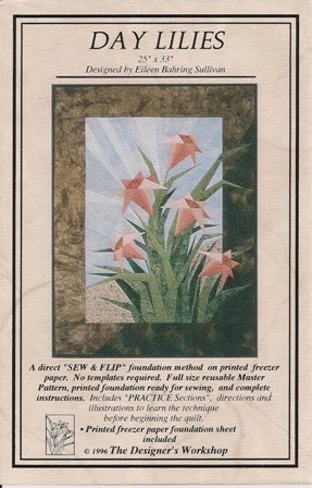 Day Lilies Quilting Pattern by Eileen B. Sullivan