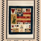 Americana Wall Quilt Series 601 by Willow Tree Design
