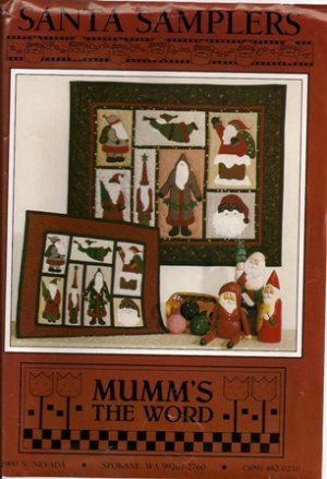 Santa Samplers by Mum's the Word