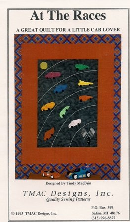 At the Races Quilting Pattern by TMAC Designs, Inc