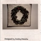 Double Wreath Quilted Wall Hanging Pattern by Audrey Derscha