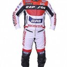 Honda Repsol Leather Motorbike Jacket & Trouser - CE Approved Full Protection