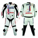 Honda Repsol MotoGp 2014 Motorcycle Leather Racing Suit