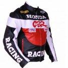 Honda CBR Motorcycle Leather Racing Jacket