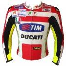 Ducati Tim Motorbike Motorcycle Leather Racing Leather Jacket 2014 Design