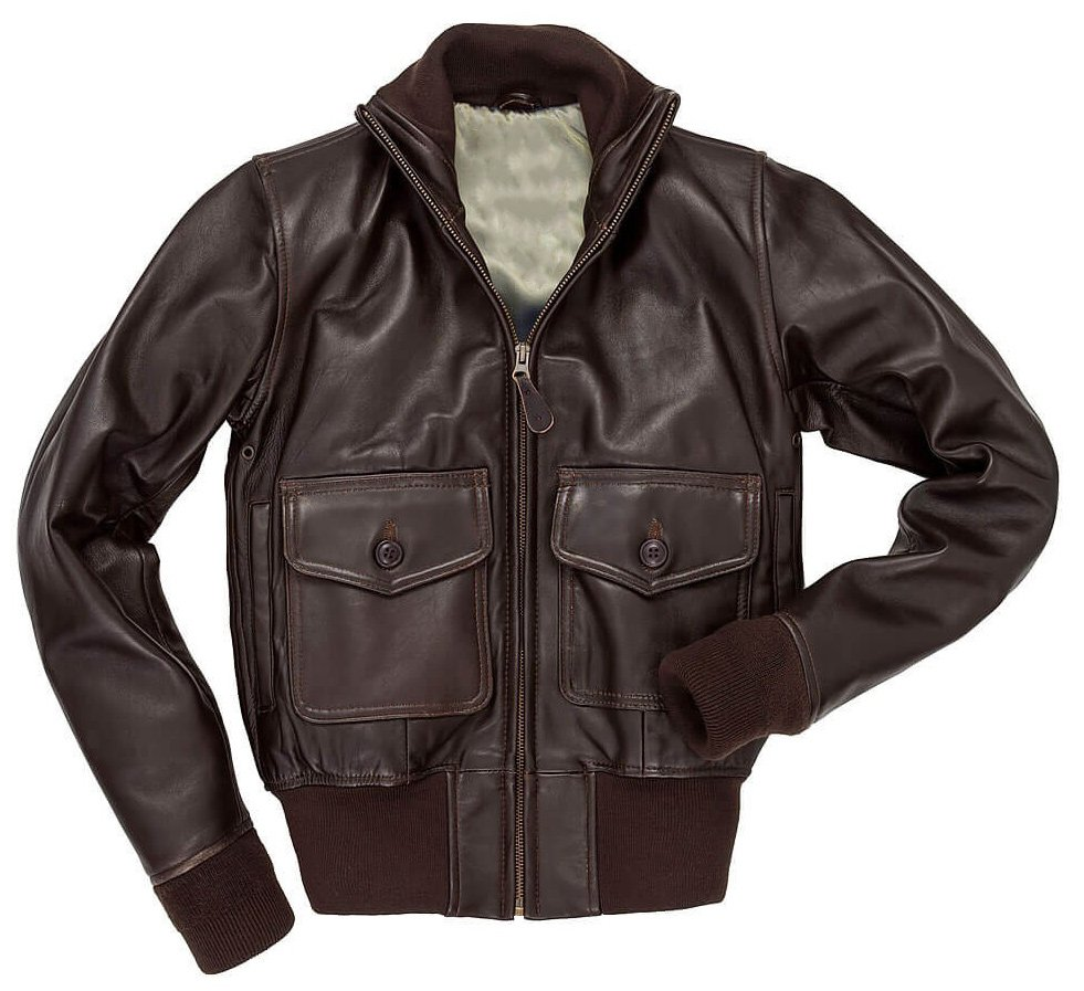 B3 Bomber Cockpit Flight Sheepskin Leather Jacket | Knit Collar RAF Flying Leather Jacket