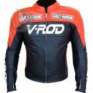 VROD Leather Jacket   Harley KTM Biker Jacket with 5pc CE Protection   Custom Made