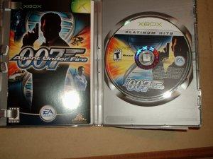 007 AGENT UNDER FIRE X BOX GAME
