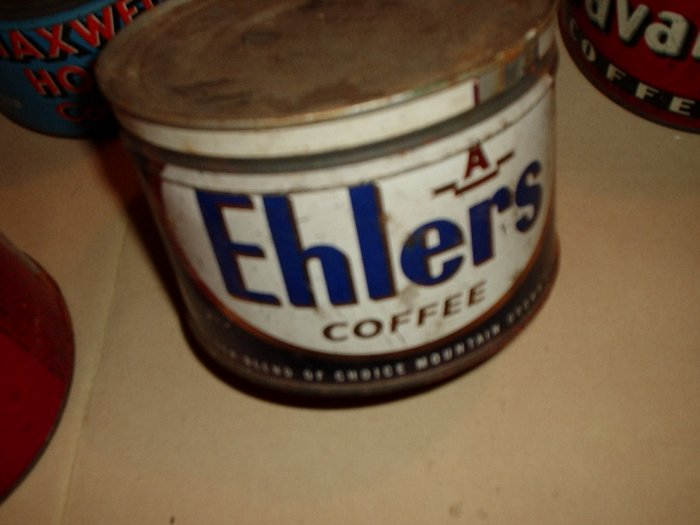 EHLERS SMALL COFFEE CAN WITH LID