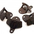 Lot of 4 Western Theme Bottle Openers Rust Cast Iron - 07496 - 91